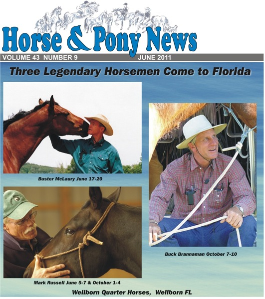 Horse & Pony News Cover for June 2011
